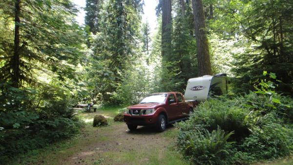 Blue River NFS Campground OREGON