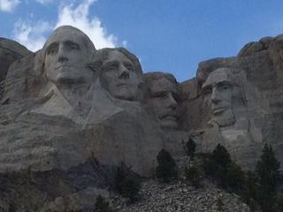 Mt. Rushmore!  Breathtaking!