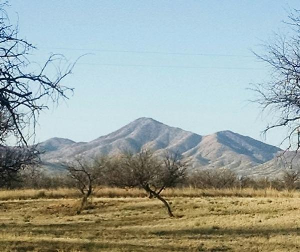 Arivaca Mountain View From Sisters Porch and from Camping spot; Arivaca, AZ