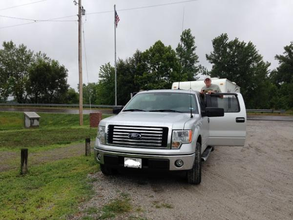 National Parks on the Air July 22, 2016.  Hubby is a ham radio enthusiast and we went to a lot of national parks and monuments to make contacts.