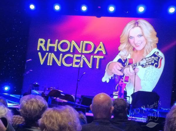 Branson, Missouri at a Rhonda Vincent concert.  October, 2015.