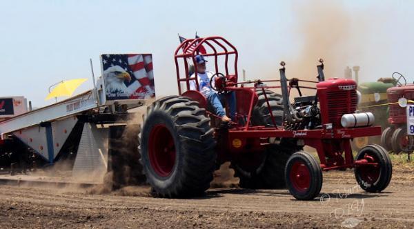 Tractor pull.  June 3, 2018