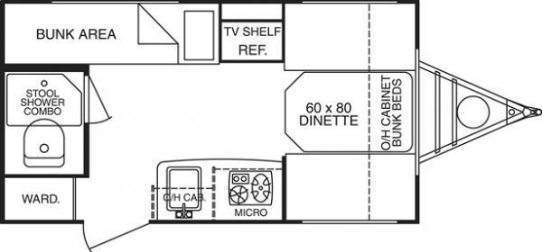 layout of interior