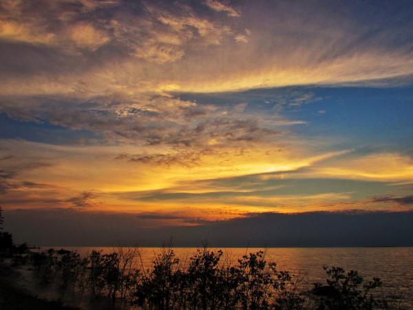 Wilderness State Park sunset