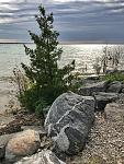 Lake Michigan at the Straits of Mackinaw.
