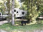 Site 80 Castle Rock Campground, St. Ignace MI