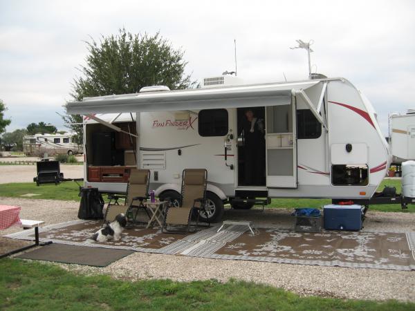 IMG 0778 Set up at the KOA in Carlsbad, NM