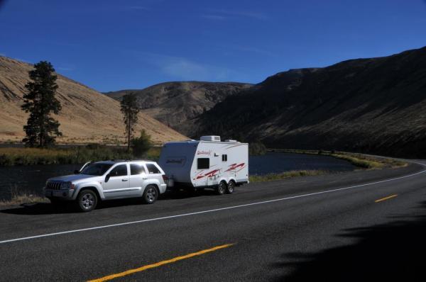 Yakima River Valley senic roadside