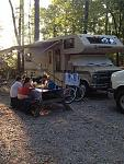 Barnwell State Park one of our many RV experiences 1988 Coachman Leprachaun on a chevy platform