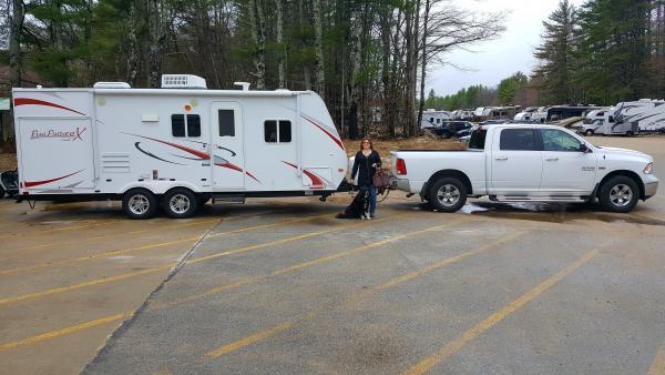 Picking up Stella at NConway Camping World :)
