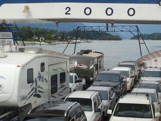 Kootenay  Lake BC Ferry Ride