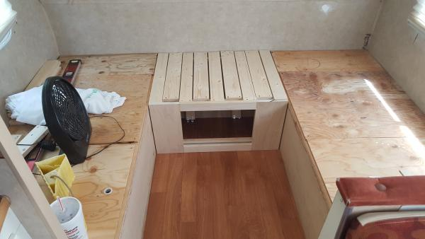 Bed Frame Closed