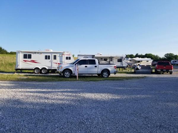 memorial 2018 Our camper, daughters camper and sons camper. Yup we are a camping family!