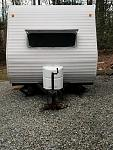 """Propane cover: Our """"camper warming"""" gift from mom and dad."""