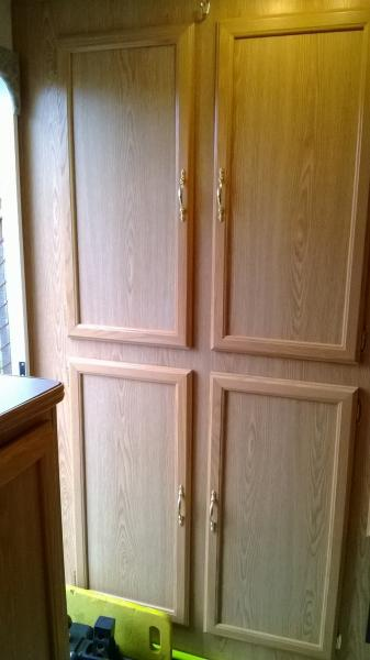 back wall cabinets