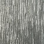 """Self-stick embossed """"faux metal"""" wallpaper. Entire front wall of unit (kitchen) will be covered in this."""