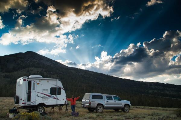 Toiyabe National Forest, Calif., August 8, 2015