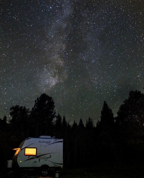 Toiyabe Natl. Forest, Sept. 2013, Milky Way